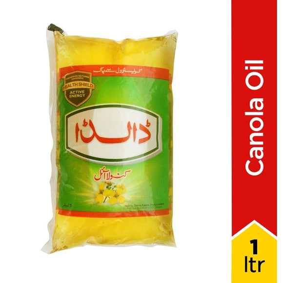 Dalda Canola Oil Tail 1Ltr