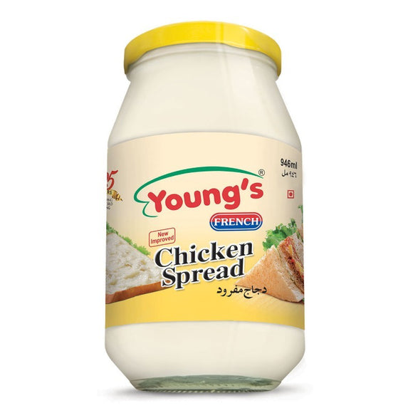 Young's French Chicken Spread 946ml (4613412028501)