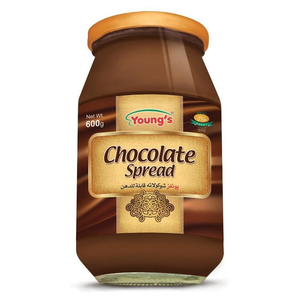 Youngs French Chocolate Spread - 600gm (4611855777877)