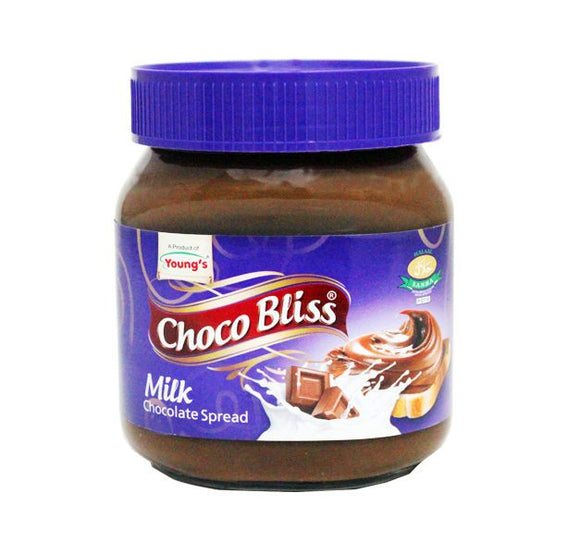 Choco Bliss Milk Chocolate Spread 350gm (4623854862421)