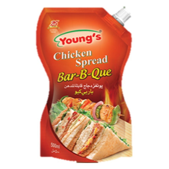 Young's Chicken Bar-B-Que Spread 500ml Pouch (4613402984533)