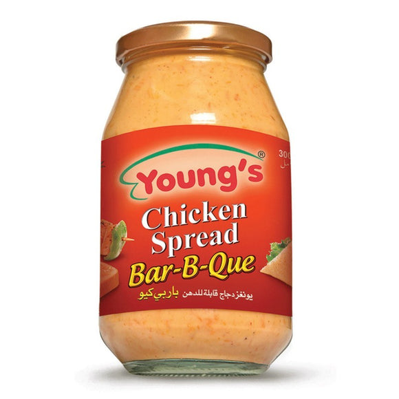 Young's French Chicken Spread BBQ 300ml