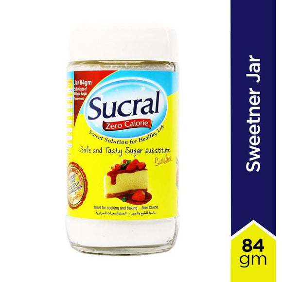 Sucral Sweetner Jar - 84gm