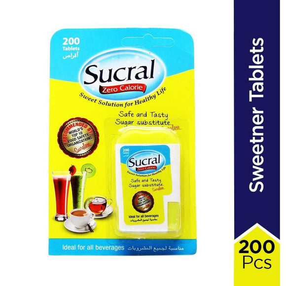 Sucral - Sucral Sweetner Tablets (Pack of 200)