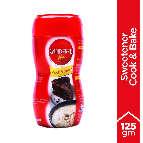 Canderel Sweetener Cook and Bake 125gm