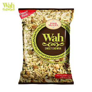 Wah Snacks Sweet Chewra 200gm (4655355887701)