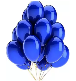 Pack Of 100 14 Inch Pearl Shape Latex Birthday Party & Decoration Balloons (4624283140181)