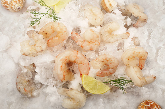 Frozen MEDIUM PRAWNS Per Packet 500grams
