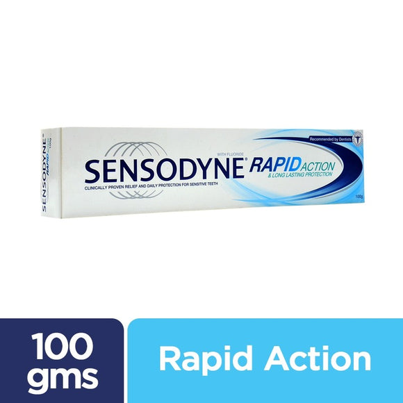Sensodyne - Sensodyne Rapid Action Tooth Paste 100g (4611952509013)