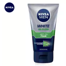 Nivea Men White Oil Clear Anti-Oil Foam 100g (4627663159381)