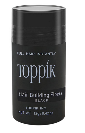 Toppik Hair Building Fibers, Black, 12g