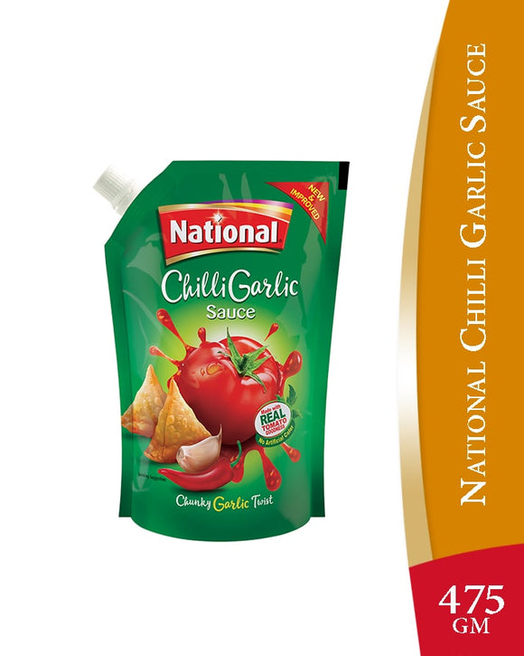 National Chilli Garlic Sauce Mirchi Lehsan Ki Chatni 475gm (4658040111189)