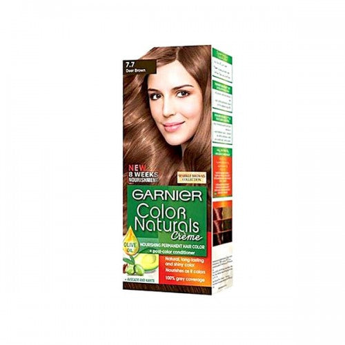Garnier Color Naturals Hair Color 7.7 Deer Brown (PAK) (4627814547541)