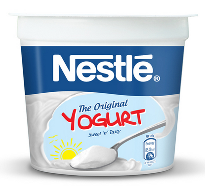 NESTLE The Original Yogurt Sweet N Tasty - 200g