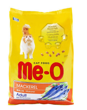 Me-O Adult Mackerel Cat Food 3 KG (4808989769813)