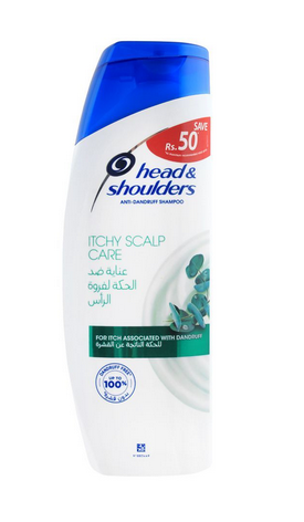 Head & Shoulders Itchy Scalp Care Anti-Dandruff Shampoo 360ml (4809531326549)