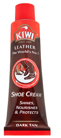 Kiwi Shoe Cream Tube, Dark Tan (4805912854613)