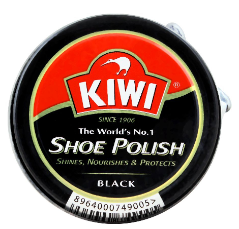 Kiwi Shoe Polish, Black, 20ml (4805913280597)