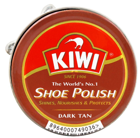 Kiwi Shoe Polish, Dark Tan, 20ml (4805913706581)