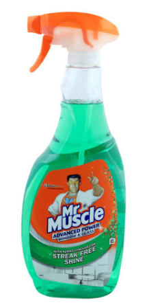 Mr. Muscle Window & Glass Cleaner Trigger 750ml (4807088963669)