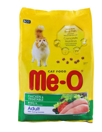 Me-O Adult Chicken & Vegetable Cat Food 3 KG (4808670543957)