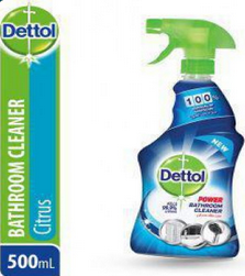 Dettol power bathroom cleaner 500LM (4825064865877)