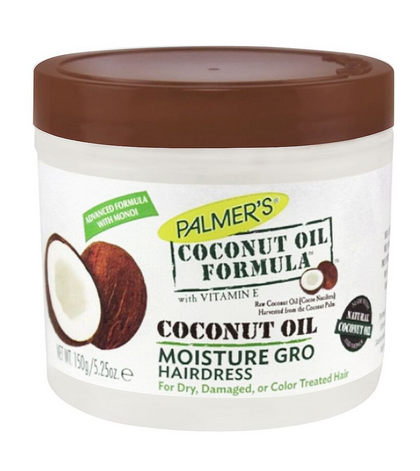 Palmer's Coconut Oil Formula Moisture Gro Hair Dress, Jar, For