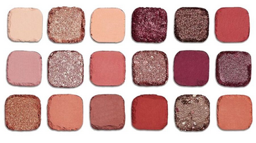 Makeup Revolution Forever Flawless Eyeshadow Palette, Allure, 18 Pieces