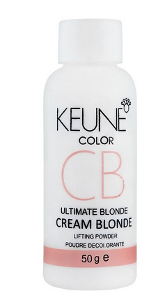 Keune Color Ultimate Blonde Cream Blonde Lifting Powder, 50g