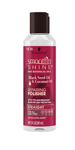 Schwarzkopf Smooth'n Shine Repairing Polisher, Black Seed Oil