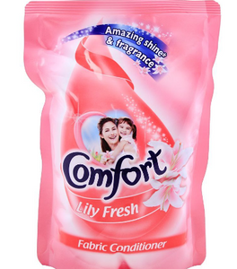 Comfort Lily Fresh Fabric Conditioner 400ml Pouch (4611924525141)