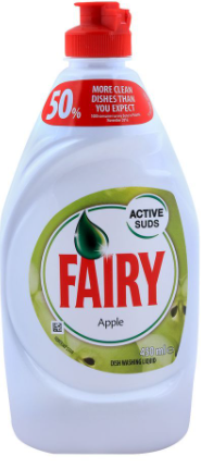 Fairy Apple Dish Washing Liquid 450ml (4805865930837)