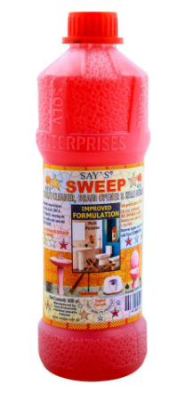 Say's Sweep Toilet Cleaner & Drain Opener 600ml (4807124746325)