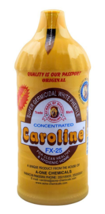 Caroline White Perfumed Phenyle, FX-25, Concentrated, 900ml (4807128678485)