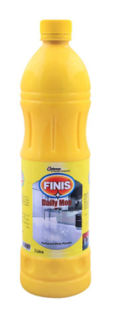Finis Daily Mop, Perfumed White Phenyle, Concentrated, 1 Liter (4807129858133)