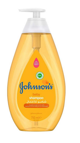 Johnson's As Gentle To Eye As Pure Water 0% Alcohol Baby Shampoo, Italy, 750ml (4809097183317)