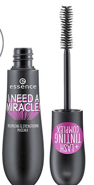Essence I Need A Miracle! Volumizing & Strengthening Mascara, 01, Black