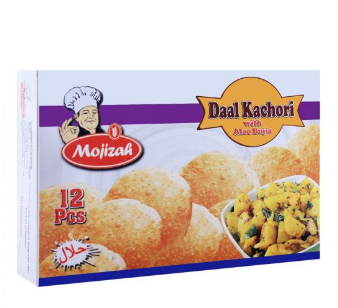 Mojizah Daal Kachori With Aloo Bujia, 12 Pieces (4703373230165)