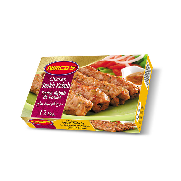 Nimco Chicken Seekh Kabab 12pcs