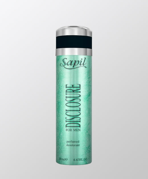 Sapil Disclosure White Men Body Spray