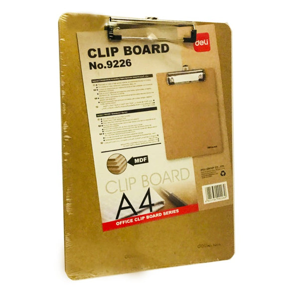 A4 Clip Board 9226 Brown