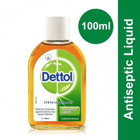 Dettol Antiseptic Liquid - 100ml (4616762097749)