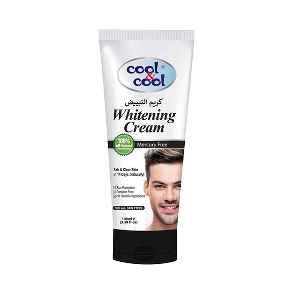 Cool and Cool Whitening Facial Cream For Men 100ml (4614247940181)