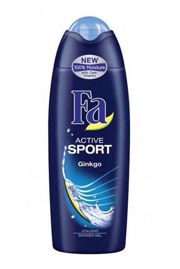 Fa - Men Shower Gel Active Sport Ginkgo, 250ml