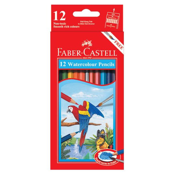 Faber Castell 12 Water Color Pencils 114462