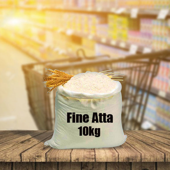 Ahmed Food Fine Atta Flour 10kg (4775693320277)
