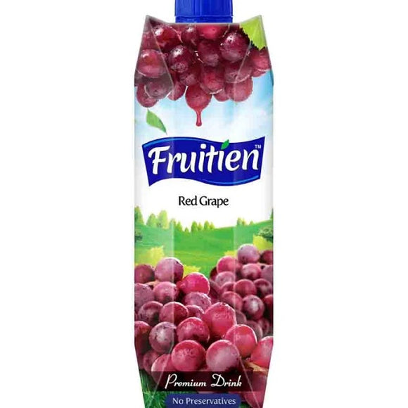 Fruitien Red Grape Fruit Juice 1Ltr