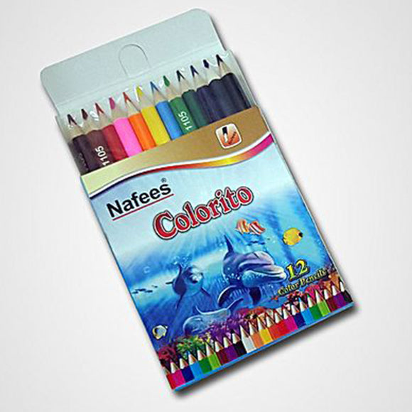 Nafees Color Pencil 1100 12Pcs/Box