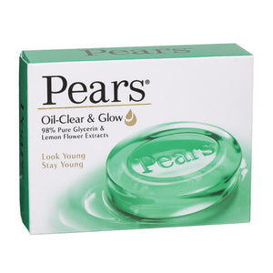 PEARS OIL CLEAR & GLOW SOAP 125GM (4627817660501)