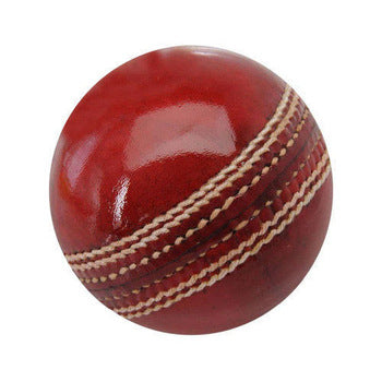Leather Red Hard Ball (4627544473685)